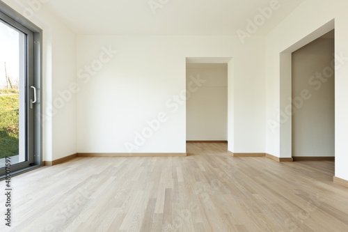 modern architecture new empty apartment room buy this stock