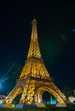Fototapeta Fototapety z wieżą Eiffla - eiffel tower replica in mini siam