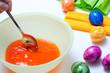 osterei wird orange gefärbt bild 2