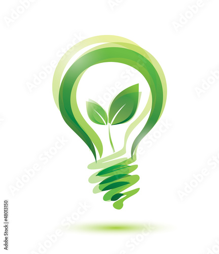 Fotografía  green bulb