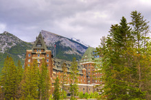 The Famous Banff Spring Hotel ...