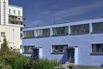 Mart Stam house west side, Weissenhof, Stuttgart