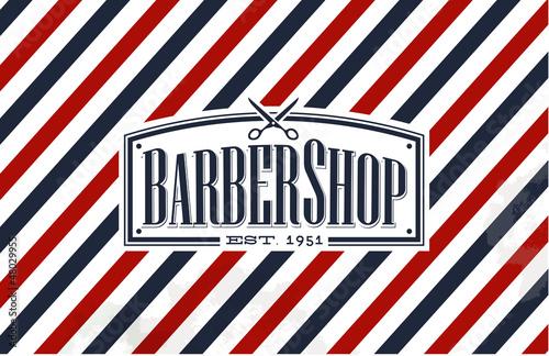 Vintage, Old Fashion styled Barber Shop
