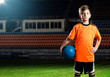 canvas print picture - Soccer Child