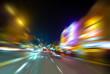 Columbus avenue motion blur