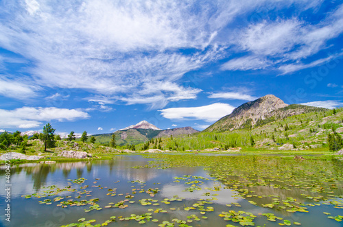 Fotografie, Obraz  Beaver Lagoon in the San Juan Mountains