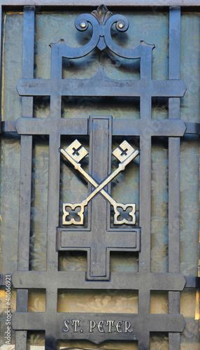 Keys of Saint Peter. Tapéta, Fotótapéta