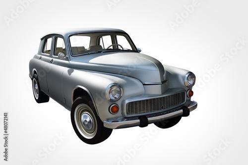 Fototapeta An old polish car warszawa obraz