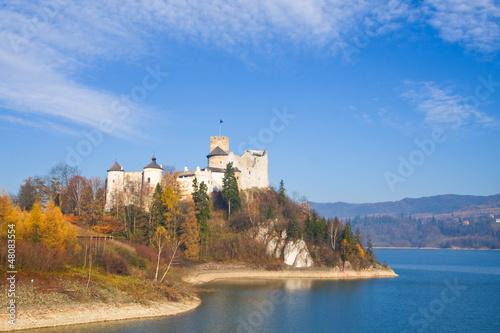 Fototapeta Niedzica Castle, Poland obraz na płótnie