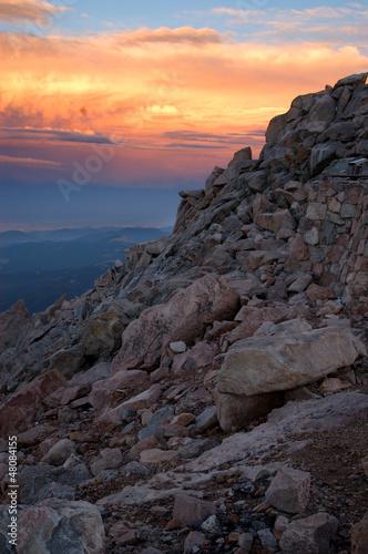 Fotografie, Obraz  Sunset at Mount Evans, 1600 ft.