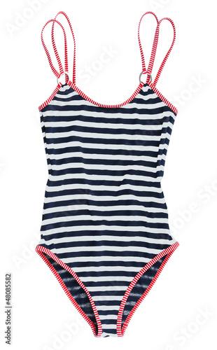 Obraz striped swimsuit - fototapety do salonu