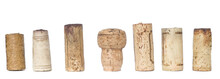 Collection Of Wine Corks, Isol...