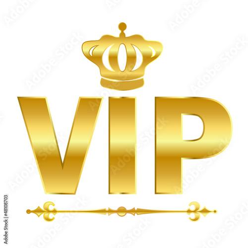 Fotografía  Vector vip emblem