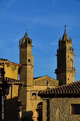 Elciego, church of San Andrés (Spain)