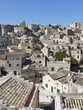 A view at houses in the Sassi of Matera in in Italy