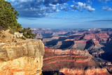 horizontal view of famous Grand Canyon - 48138766