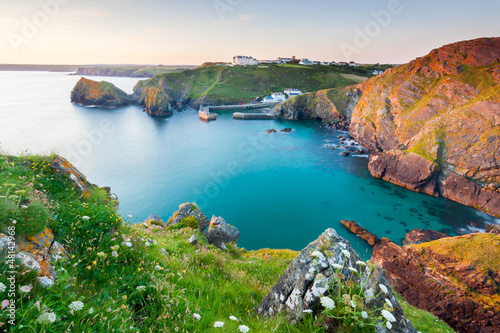 Aluminium Prints Coast Mullion Cove Cornwall