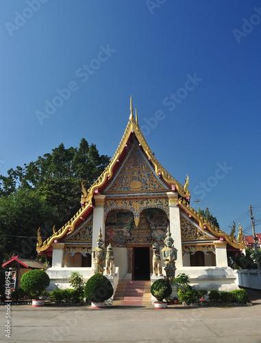 Deurstickers Bedehuis Temple