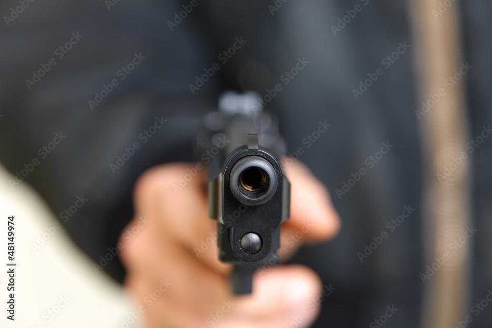 Fototapeta 拳銃