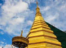 Wat Phra That Chor Hae, Temple In Phrae, Thailand