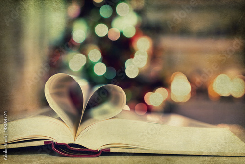 Photo Book - heart - bokeh - texture