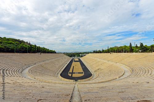 Staande foto Athene The old Panathenaic stadium in Athens