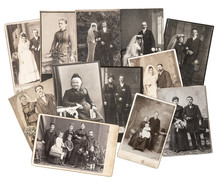Vintage Family And Wedding Pho...