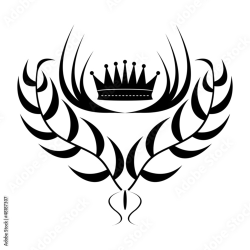 Fotografija Element for design. crown