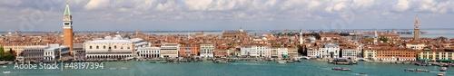Foto op Plexiglas Venetie Vue panoramique de Venise - Italie