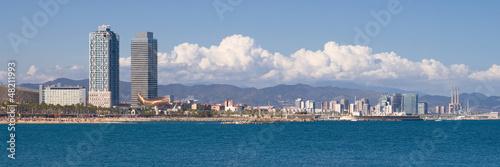 Papiers peints Barcelona Barcelona waterfront