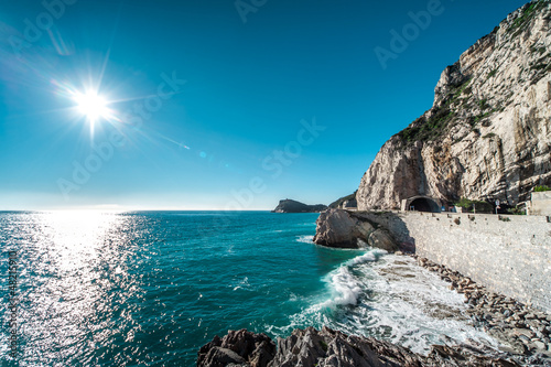 Photographie  Finale Ligure seaside, Italy