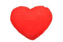 Czerwone Pluszowe Serce