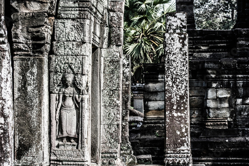 Foto  Temples in  Angkor, near Siem Reap, Cambodia