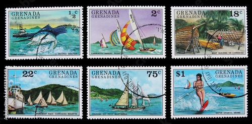 Foto op Plexiglas Caraïben Tourism activities in Caribbean islands