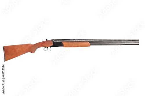 Fotografía  A studio shot of a hunting shotgun