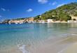Paisaje en Cala Vadella, Ibiza, España