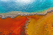 Beautiful Colors In A Geyser P...