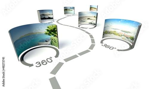 Fotografía Virtual tour, 360 degrees panoramas