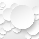 Paper white circles.