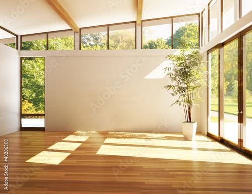 Fotografía  Modern interior room