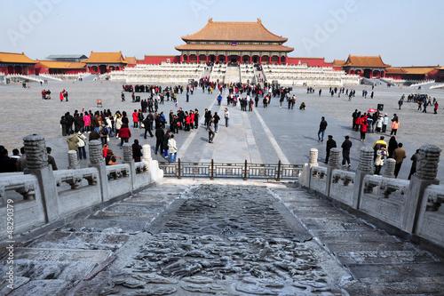 Door stickers Beijing The Forbidden city in Beijing China
