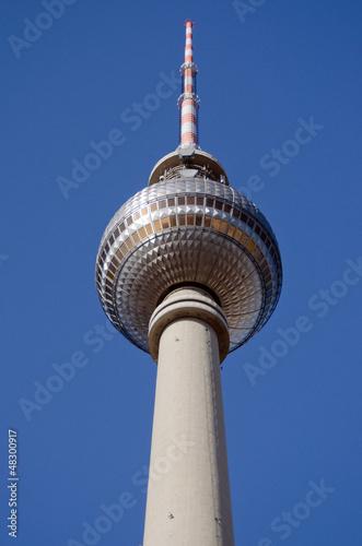Berlin - Alexanderplatz - Fernsehturm Poster