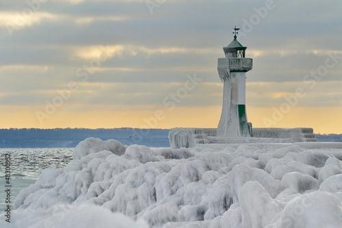Foto op Aluminium Vuurtoren lighthouse island of rügen