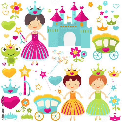 Fotografie, Obraz  princess set