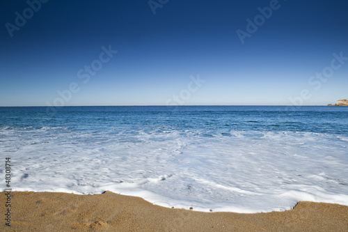 Foto-Rollo - Beautiful beach (von ikostudio)