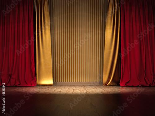 Vorhang Theater Galerie : Meta harmonie als theater vorhang sold by galerie fischer luzern