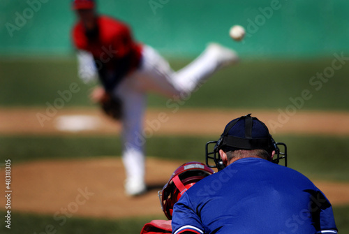 Photo  Baseball Pitcher