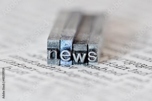Fototapeta na wymiar news