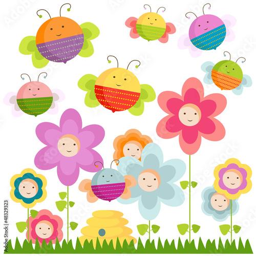 pszczoly-i-kwiaty