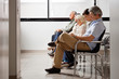 canvas print picture - People Waiting For Doctor In Hospital Lobby